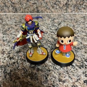 Nintendo Amiibo Roy And Villager Super Smash Bros Series for Sale in Fresno, CA