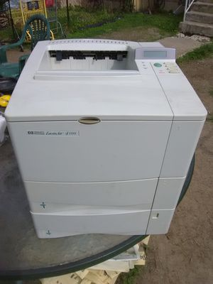 HP 4100 network printer with new $150 toner cartridge for Sale in Washington, DC