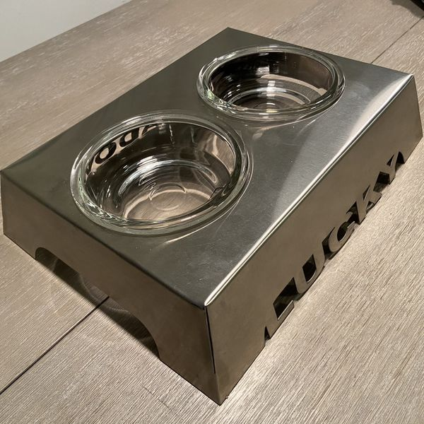 Dog Or Cat Bowl Stand