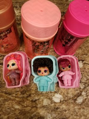 Three different Lol surprise dolls hairgoals series wave 2 rare E.D.M.B.B. Splits and Pins for Sale in Fort Lauderdale, FL