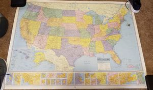 Hammond collection series usa map for Sale in Tuscola, TX