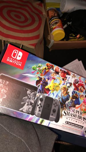 Super smash brothers ultimate Nintendo switch for Sale in Bellevue, WA