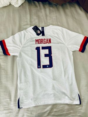 NIKE Men's 2019 ALEX MORGAN #13 USWNT World Cup USA Size L for Sale in Lubbock, TX