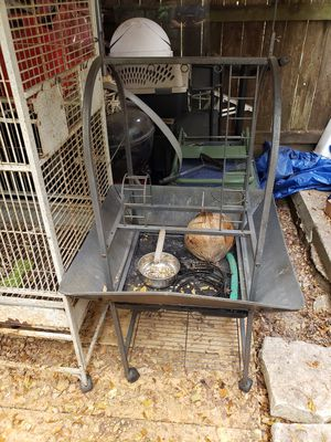 Big Cage and bird stan for Sale in Houston, TX