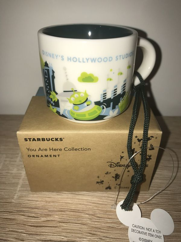 Starbucks YAH Ornament Disney's Hollywood Studios