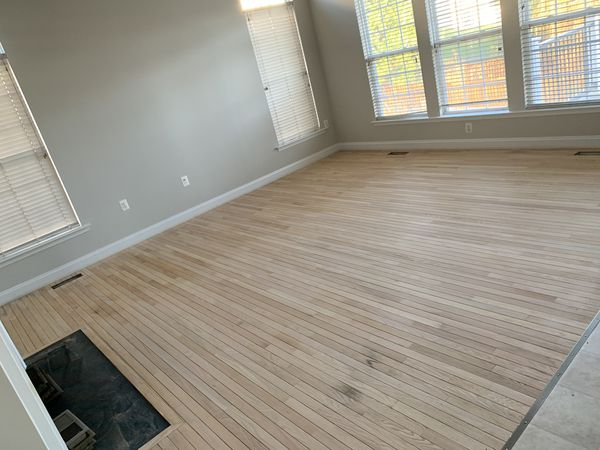 Reburbished flooring