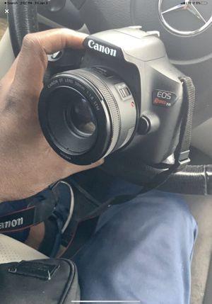 Canon t6 + 50mm stm lense for Sale in Houston, TX