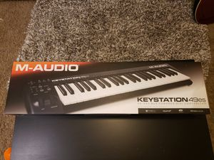 M-AUDIO Keyboard 49es, MIDI Controller, Studio instrument for Sale in Miramar, FL