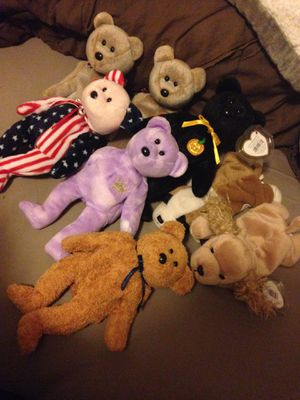 Retired Beanie Babies for Sale in Stockton, CA