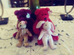 Collectible TY Toy set 4 for Sale in Fort Myers, FL