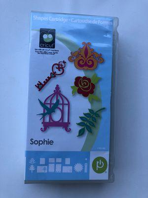 Cricut cartridge Sophie for Sale in Annandale, VA
