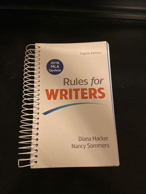 Rulers for Writers book for Sale in Miami, FL