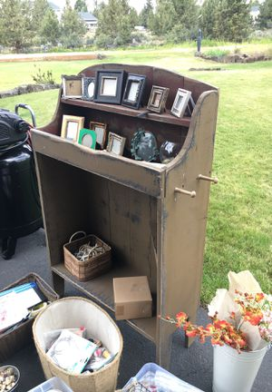 Antique Brown Shelf for Sale in Bend, OR