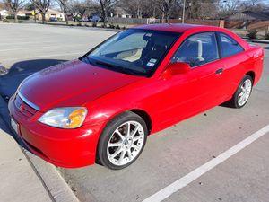 2002 Honda civic titulo limpio for Sale in Dallas, TX