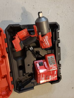 P267) MILWAUKEE 18V 3/4 SQUARE-RING IMPACT WRENCH, WITH CHARGER.... NO BATTERY... for Sale in Riverside, CA