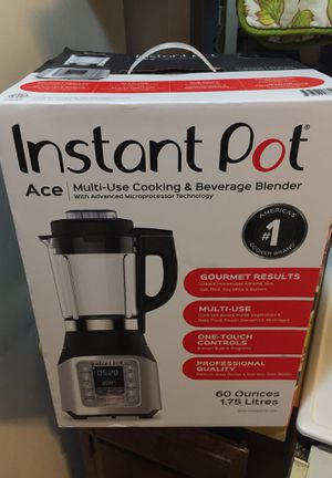 Instant Pot Blender~BAND NEW NEVER OPEN BOX! •Ace| multi-use cooking and beverage blender with advanced microprocessor technology •One-touch controls for Sale in Lodi, CA