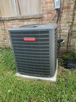 5 Ton 16 SEER Goodman Central Air Conditioner Condenser for Sale in Missouri City, TX