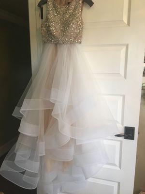 Prom Dress - Two Piece - Terani Couture for Sale in San Clemente, CA