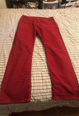 Red Levi's 514 size 34x32 for Sale in Cleveland, OH