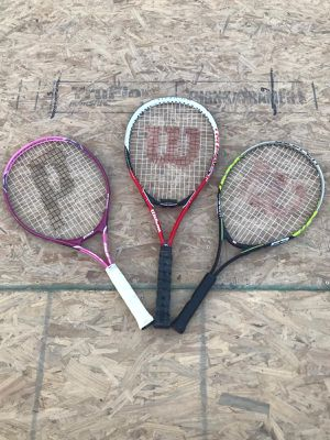 3 Tennis Rackets for Sale in Las Vegas, NV