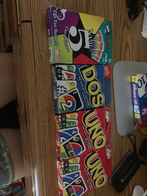 Card games $5 each for Sale in San Mateo, CA