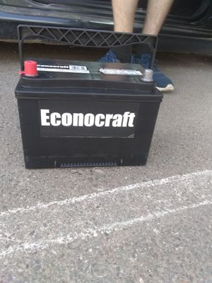 Econocraft car battery for Sale in Concho, AZ