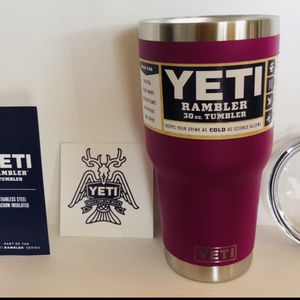 Yeti 30oz Rambler Tumbler cup for Sale in Saint Albans, WV