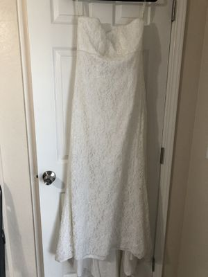 Strapless Wedding Gown for Sale in Fresno, CA