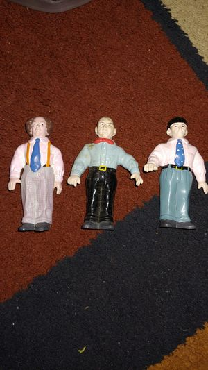 Three stooge action figures for Sale in Philadelphia, PA