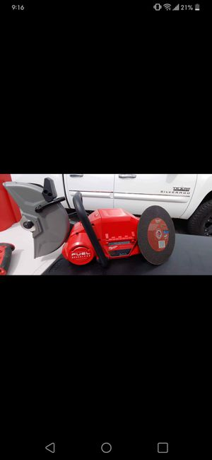 Milwaukee 9in Cut off saw TOOL ONLY for Sale in Fairview, TX