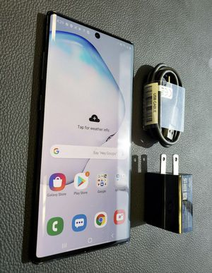 Samsung galaxy note 10+ for Sale in Cuyahoga Falls, OH