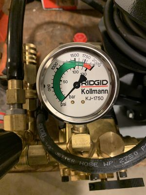 Ridgid Kollmann Kj-1750 Water Jetter Drain Cleaner With Cart for Sale in Chicago, IL