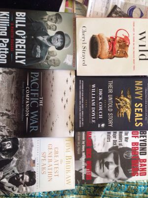 "Six""Military Bestsellers"" hardcover Books for Sale in Alexandria, VA"