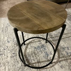 2 Circular Sled End Table for Sale in Portland, OR