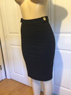 Women's black Diane Von Furstenberg form fit pencil skirt size 2 for Sale in Redondo Beach, CA