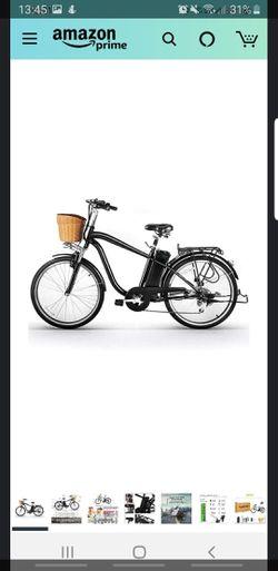 "NAKTO 26"" city electric bike for Sale in Keizer,  OR"