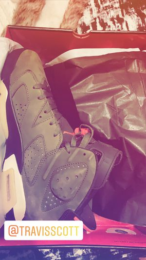 Travis Scott Jordan 6s for Sale in Montclair, NJ