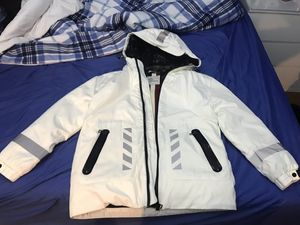 Men's moncler off white down jacket white color for Sale in NO POTOMAC, MD