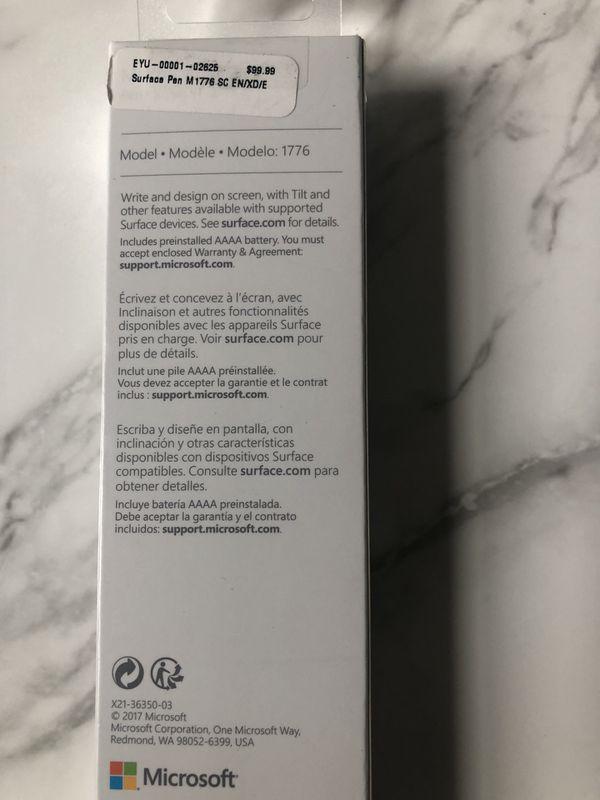 Microsoft surface stylet pen