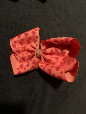 Pink with pink hearts jojo bow for Sale in Monterey Park, CA