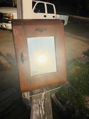 Antique Dallas Linen Wood Cabinet for Sale in Rowlett, TX