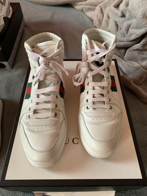 Gucci leather high tops Size 9 us Size 39 in Gucci for Sale in Brentwood, CA