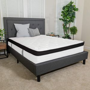 New Flash Furniture Capri Comfortable Sleep 12 Inch Memory Foam and Pocket Spring Mattress Queen size for Sale in Galloway, OH