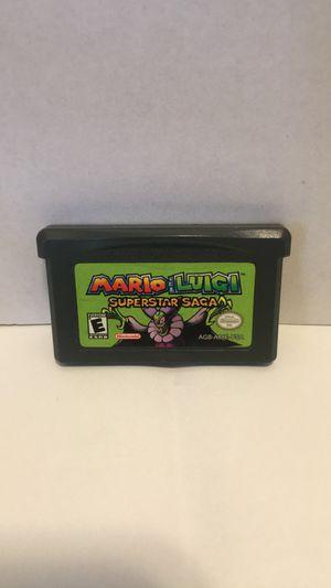 Mario & Luigi Superstar Saga for Gameboy Advance for Sale in Los Angeles, CA
