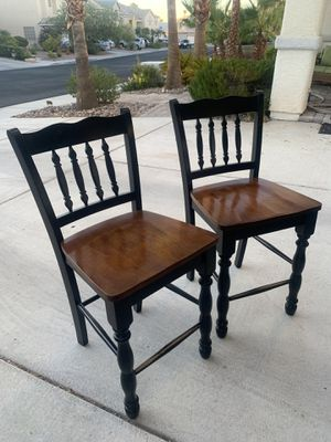 Two chairs - decor - kitchen table furniture for Sale in Henderson, NV
