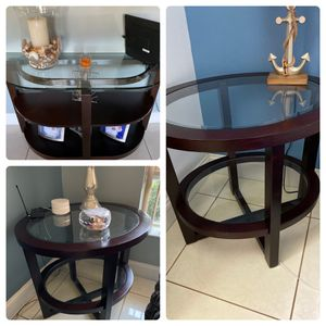 Sofa table and end tables set for Sale in Fort Lauderdale, FL