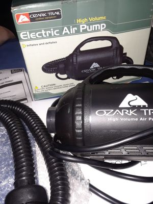 Ozark trail air pump & bed for Sale in State College, PA