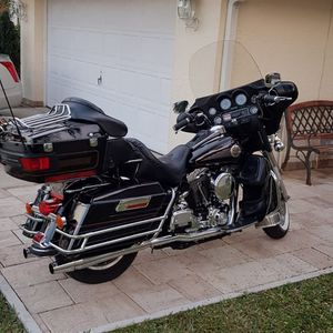 Harley Davidson 2001 Electra Glide Ultra Classic 1580cc 96ci Like New for Sale in Boca Raton, FL