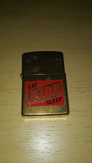 EAT RIDE SLEEP ZIPPO LIGHTER for Sale in Clearwater, FL