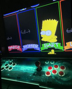 INSANE Game Cabinet Console w/4000+ Games AND 2 Player Joystick for Sale in La Puente,  CA